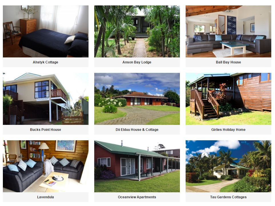 Norfolk Island Holiday Homes